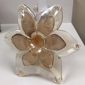 Murano Made in Italy Beautiful Flower CandleHolder
